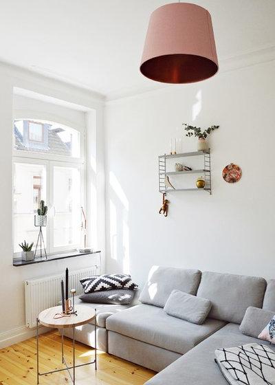 Elegant Scandinavian Living Room by Stephanie Schetter