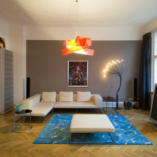 Contemporary Home Theater by BERLINRODEO interior concepts