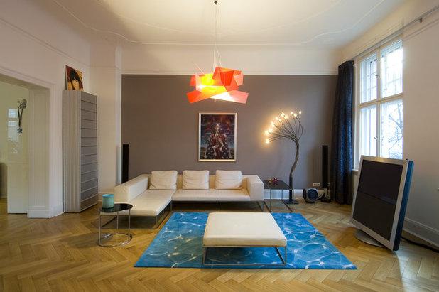 Deckenspots Anordnung beleuchtung im wohnzimmer tipps für die lichtplanung