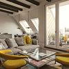 Houzzbesuch: Wohnen wie im Altbau – in einem neuen Dachgeschoss