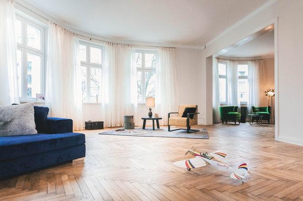 Eklektisch Wohnbereich by CARLO Berlin - Architektur & Interior Design