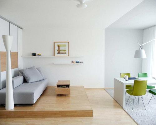 Podest fr wohnzimmer for Modern eingerichtete wohnzimmer