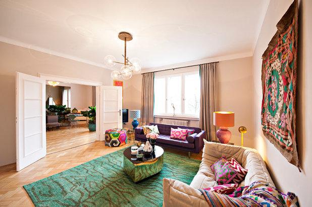 Eklektisch Wohnzimmer by EDZARD PROBST - Architekturfotografie