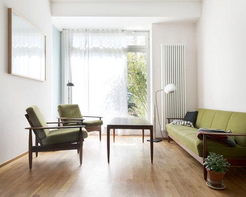 Mid-Century Wohnzimmer - Ideen, Design, Bilder & Beispiele