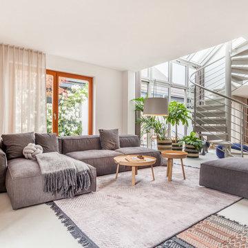 Aumer Massivhaus Musterhaus - Wohnzimmer