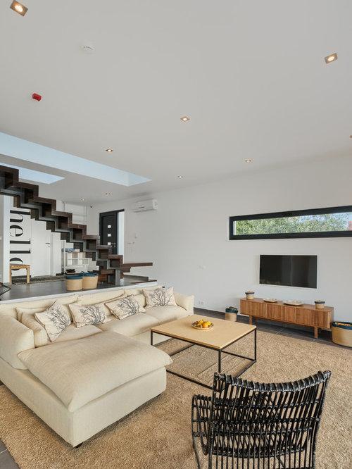 Awesome Moderne Wohnzimmer Bilder Contemporary - Interior Design ...