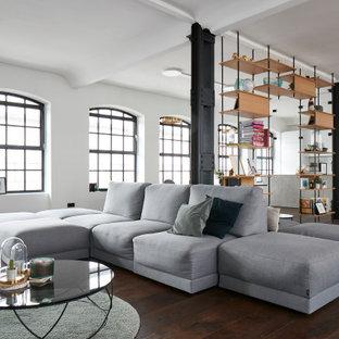 Industrial Wohnzimmer in Hamburg