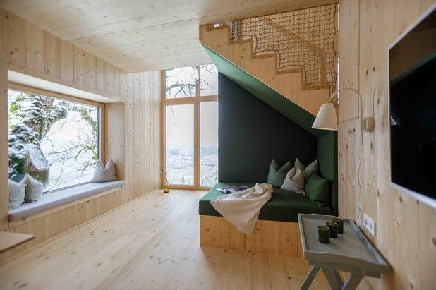 Skandinavisch Wohnzimmer by Architekturbüro Gappmaier