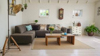 Beispiel eines modernen Wohnzimmers