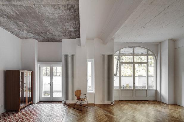 Modern Wohnbereich by marc benjamin drewes ARCHITEKTUREN