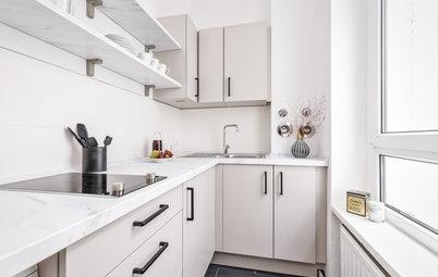 Vier neu gestaltete Küchen in neutralen Farben