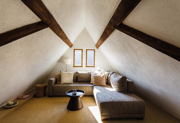 Country Family Room by Büro für Architektur und Denkmalpflege