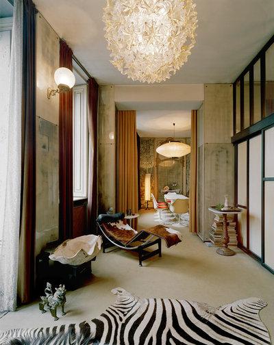 Eclectic Living Room Casa M