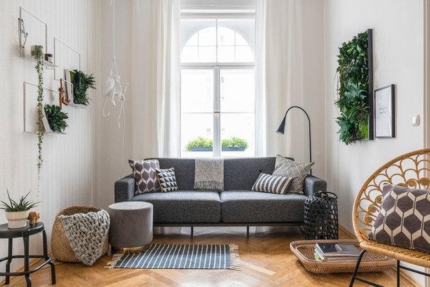 Skandinavisch Wohnbereich by Peter Langenhahn