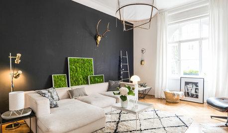 Wie muss ein Wohnzimmer aussehen, um Houzz-User zu begeistern?