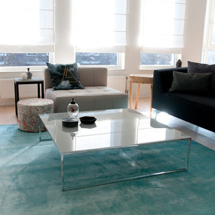 Contemporary apartment restyle