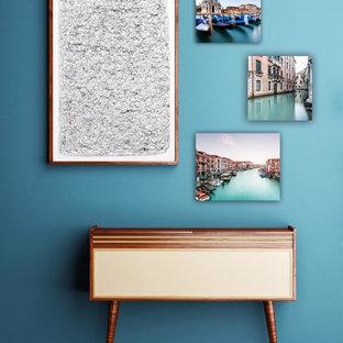 Imagen de sala de estar actual pequeña