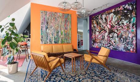 Wände im Farbmix, Fliesen-Decke… die besten Houzz-Ideen der Woche