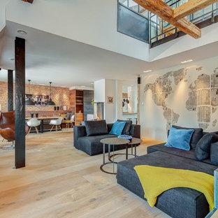 Wandgestaltung Wohnzimmer Ideen Bilder Houzz