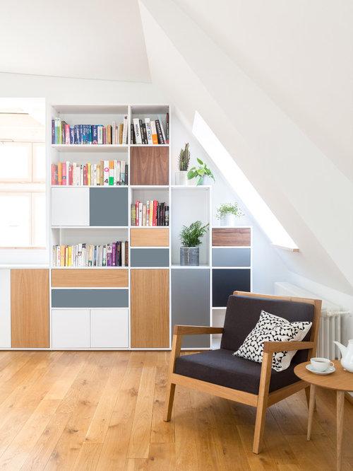 Wohnzimmereinrichtung im skandinavischen stil for Wohnzimmereinrichtung holz