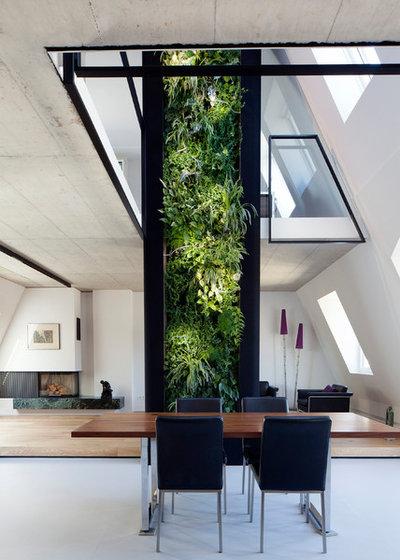 Minimalistisch Wohnbereich by Bachmann Badie Architekten