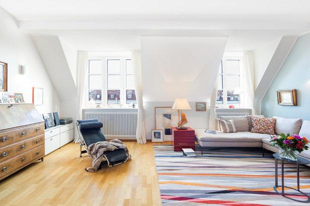 Modern Wohnbereich by STS Interiors