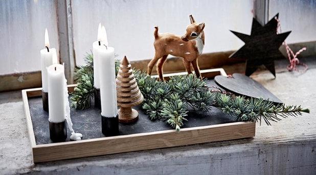13 ideen wie sie die fensterbank weihnachtlich dekorieren - Gartentisch dekorieren ...