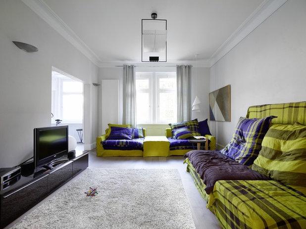 Eklektisch Wohnzimmer by Sarah Maier Handgewerke GmbH