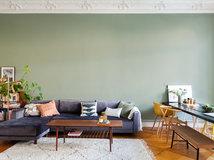 Wandfarbe fürs Wohnzimmer: Wie Sie den richtigen Ton finden