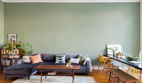 Wie Sie die perfekte Wandfarbe fürs Wohnzimmer finden