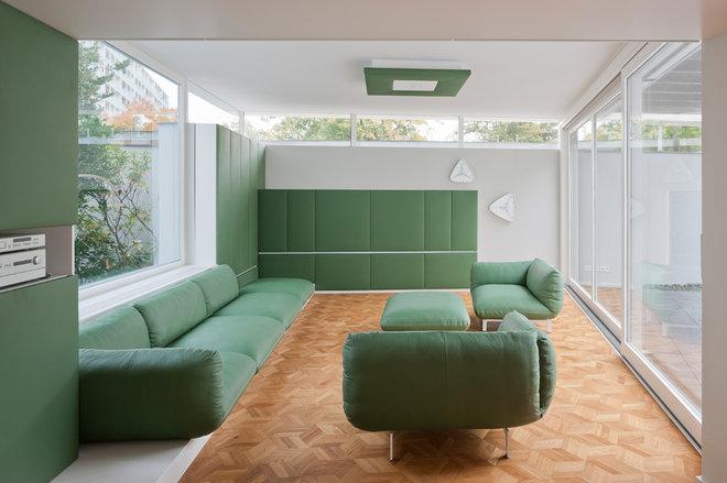 Modern Living Room by wiewiorra hopp schwark architekten