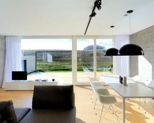 Wohnzimmer mit grauer Wandfarbe Ideen, Design & Bilder | Houzz