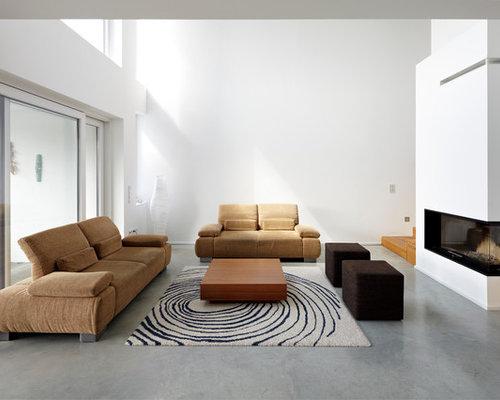 Moderne Wohnzimmer Mit Gaskamin Ideen, Design & Bilder | Houzz