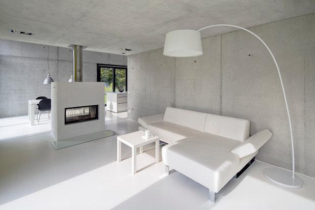 Minimalistisch Wohnbereich By Schiller Architektur BDA