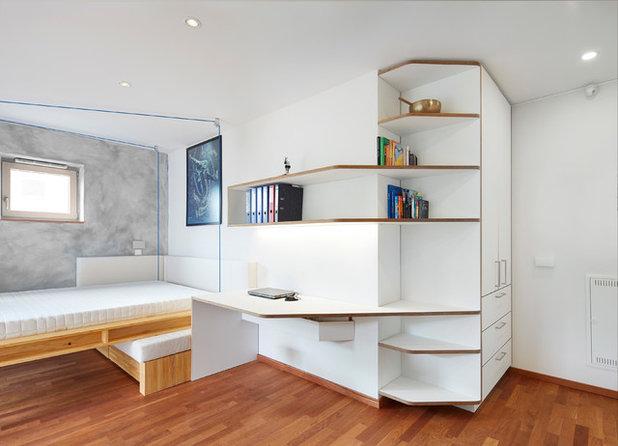 Modern Wohnbereich by DOMANI INTERIOR