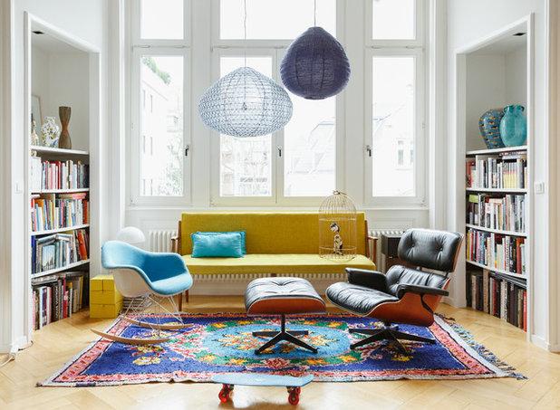 Eklektisch Wohnzimmer by Uli Kaufmann