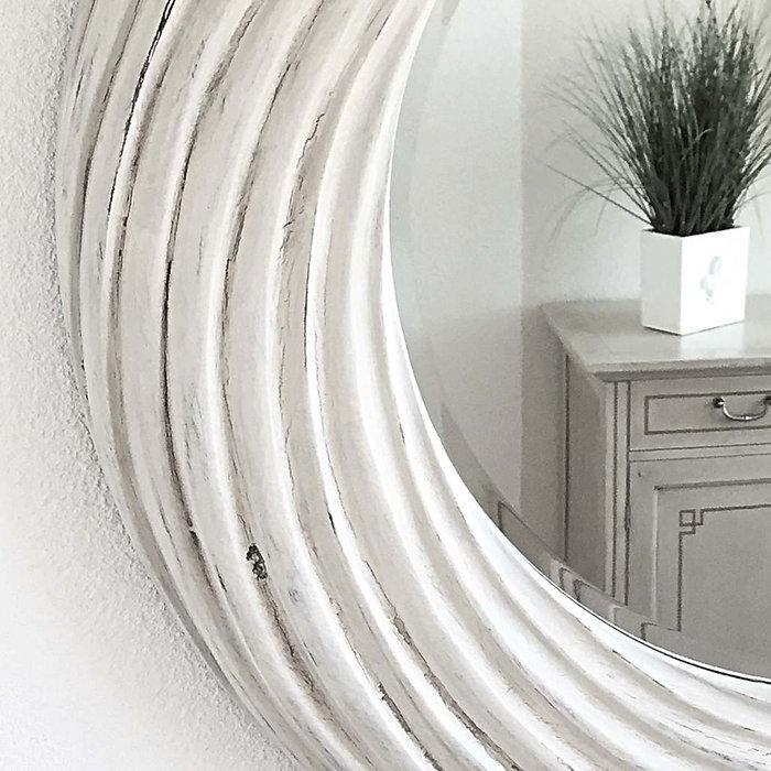 Ein Spiegel dreht durch