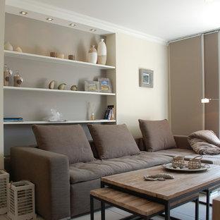 maritimes wohnzimmer einrichten ideen, maritime wohnzimmer ideen, design & bilder | houzz, Ideen entwickeln