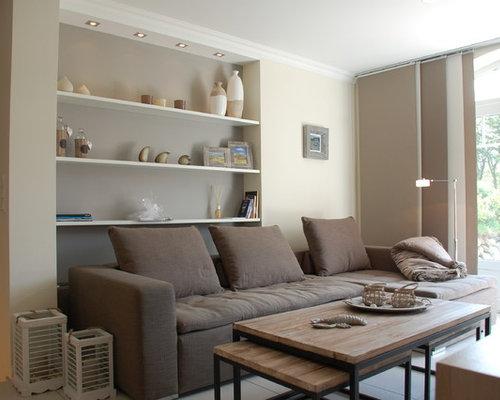 maritime wohnzimmer: design-ideen, bilder & beispiele