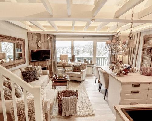 Wohnzimmer Rustikal houzz 50 best mittelgroße rustikale wohnzimmer ideen design