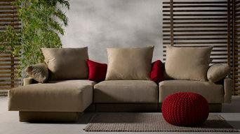 FEYDOM Sofa Set CUBAN in der Farbe Cappuccino