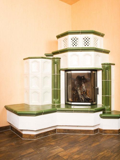 Landhausstil wohnzimmer mit oranger wandfarbe ideen - Landhausstil wandfarbe ...