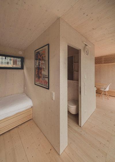 Modern Wohnbereich by transstruktura