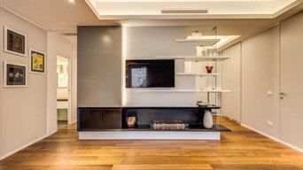 Gemütlicher Wohnraum ganz ohne Schornstein