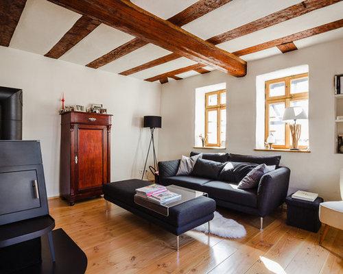 Rustikale Wohnzimmer - Ideen, Design, Bilder & Beispiele