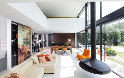 Casas Houzz: Una vivienda moderna con vistas a la Selva Negra