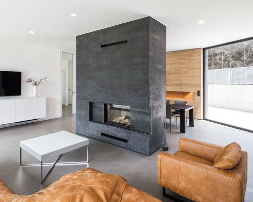 Stunning wohnzimmer ideen tv wand images house design Wohnzimmer wand design