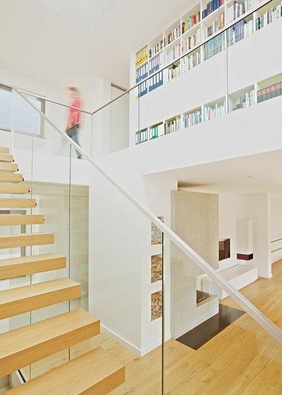 Modern Wohnbereich Haus P & V