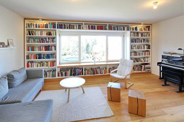 Modern Wohnzimmer by Architekturbüro Claudius Thiele