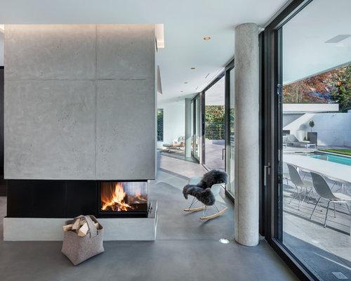 Pavimenti Per Soggiorno Moderno : Soggiorno moderno con pavimento in linoleum foto e idee per arredare